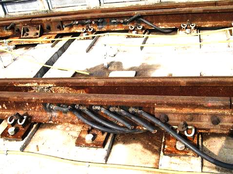 地铁/轻轨/高铁回流线/跳线焊接